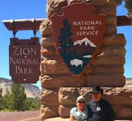 Full time RV Adventures in Utah, Zion National Park