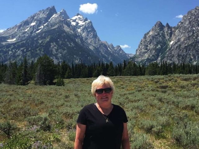 On the road to Jackson Hole, Wyoming & the Grand Tetons from our full-time RV lifestyle